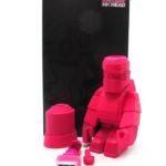 Steph Cop InkHead rose Art toys