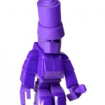 Steph Cop InkHead purple Art toys