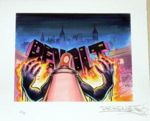REVOLT-25 GRAFFITI Street art