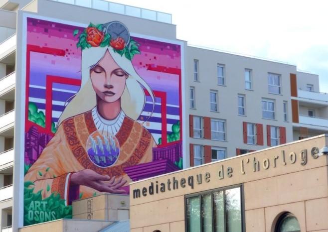 Sérénité Street Art Cergy