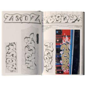 Blackbook graffiti ZEDZ Street-art